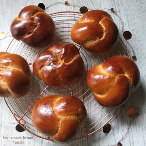クノート成形方法 黒糖ミルクパン
