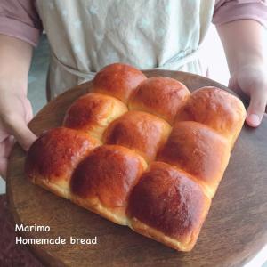 中学生の娘が作ったちぎりパン