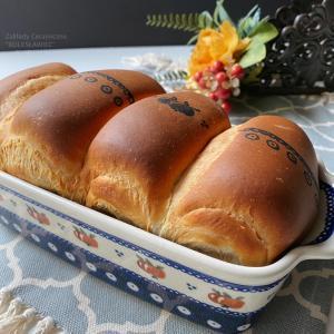 陶器の型で焼くお絵描き山食パン