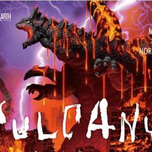 『ボルカルス』Kaiju on the earthの1作目は怪獣対人類の対戦ボードゲーム