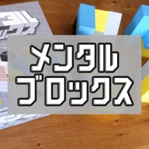 『メンタル・ブロックス』協力型3Dパズルボードゲームのルール&レビュー