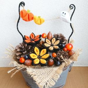 ハロウィンの飾り物