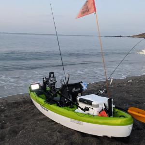 Nの海での初浮きカヤックフィッシングはアマダイ狙い!