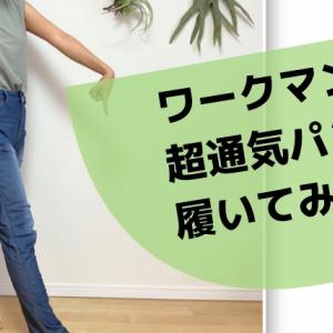 ワークマン・超通気パンツは、めっちゃ風通しよくて涼しそうなパンツだよ~!