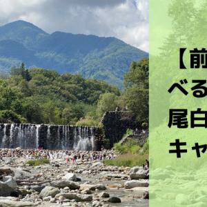 【前編】べるが尾白の森キャンプ場レポ|公園あり、川あり、自然たっぷり