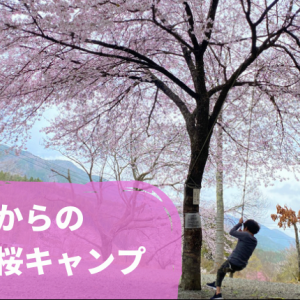 道志のキャンプ場で、お花見キャンプ!相模湖公園と相模原麻溝公園で思いっきり遊ぶ