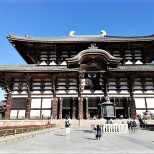 クリスマスに奈良の大仏様に会う