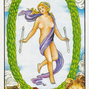 タロット:「世界」のカードの事例