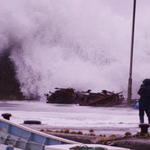 台風の雨風すごいですね・・