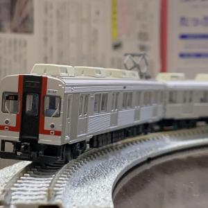 Nゲージ入線。鉄道コレクション伊豆急行8000系TA-7編成