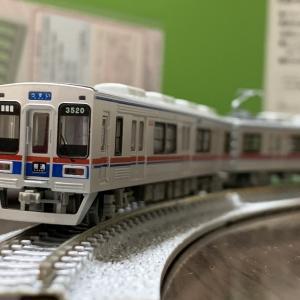 秋葉原で購入したNゲージ、鉄道コレクション、バスコレクション等のホビー製品。