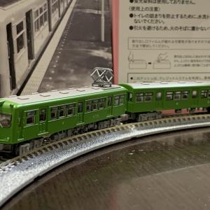 Nゲージ入線。鉄道コレクション京王2700系