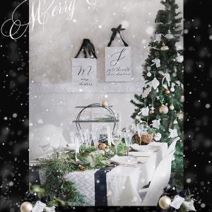 ★クリスマスの壁やテーブルもダイソーアイテム使いました!
