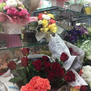 今月の花束を