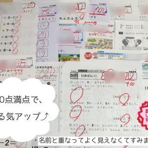 算数100点だらけ♡娘が入学前にやっていた算数のお勉強とは?