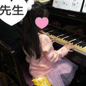 【習い事】年長*出張ピアノレッスン1回目♡ぴあのどりーむ1