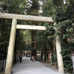 椿大神社と熱田神宮のダブル