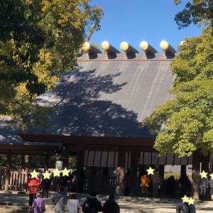 先月に続いて熱田神宮の参拝