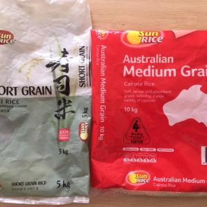 お米の種類、短粒米か中粒米か長粒米か