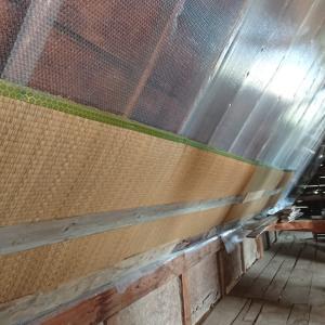 【納屋→工房リノベ】畳で寒さを防ぐ