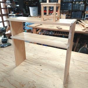 【ホワイトワックス】無垢板で自宅用の棚製作