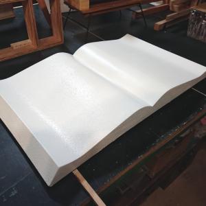 アンティークテイストな本の棚 Ver.2.5 とハサミでガラスを切る方法