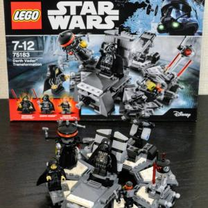 【LEGO】75183 ダース・ベイダーの誕生(2017年発売)