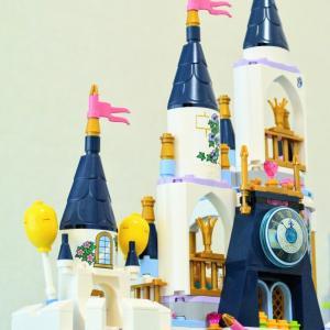 【LEGO】コンビニレゴで41154シンデレラのお城を拡張アレンジ!