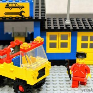 【発掘なつレゴ】6363 自動車修理工場(1980年発売)看板復元の巻