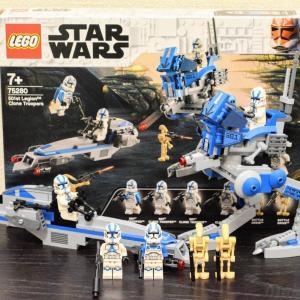 【LEGOレビュー】75280 クローン・トルーパー501部隊(2020年発売)