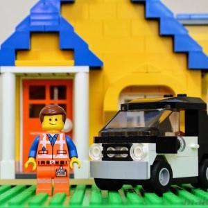 【LEGO】3177 コンパクトカーをエメットの通勤車にモディファイ