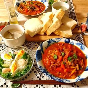 チキンのトマト煮♪ディナー♪