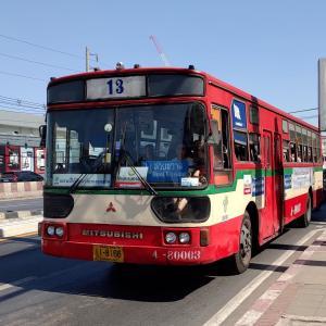 バンコク 誰でも乗れる!バスの乗り方とバスアプリ(VIA BUS)の使い方