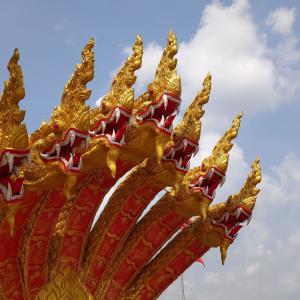 バンコク『ワットスワンナラーム』幽霊物語と100年前の壁画が残る第2級王室寺院