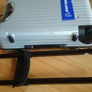 RIMOWAキャリーバッグの分解・修理 テレスコープハンドルの交換方法