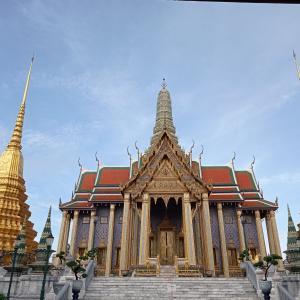 タイ最高位寺院『ワットプラケオ』現在はコロナで閑散、日本人の入場OK