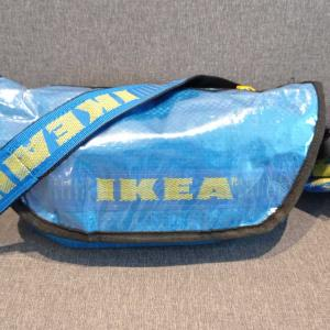 バンコクで買った激安IKEAフラクタのリメイクショルダーバッグ