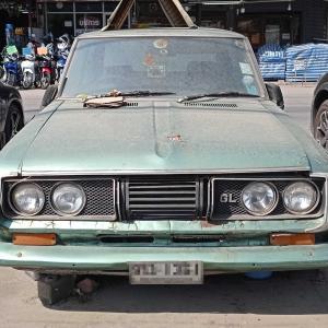 タイ バンコクで見かけた昭和のレア旧車(日本車)2