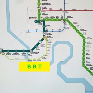 バンコク BRT(バス)の乗り方、停留所の仕組みと路線図を説明します!