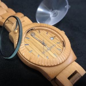自力で修理『アバテルノ(AB AETERNO)』壊れた木の腕時計
