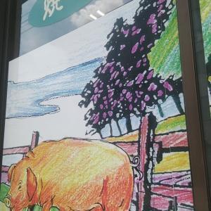 大豊町グルメひばり食堂の『オムライス大盛り』