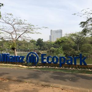 ジャカルタで公園遊びを楽しむ @ Eco Park(エコパーク)
