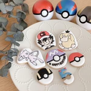 オンラインレッスン勉強中。キャラクタークッキーの作り方