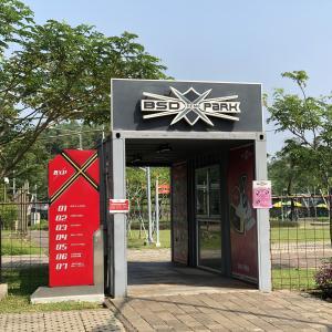 ストライダー少年必見!ジャカルタ近郊にあるキッズバイクの遊び場@ BSD Xtreme Park