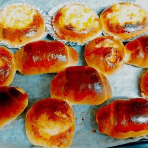 久々にパンを作りました♪