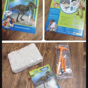 恐竜好きはもちろん、夏休み自由研究にも!ジオワールド 発掘キット