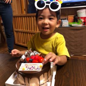 孫ちゃんお誕生日