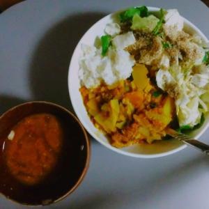 引っ越してからの初料理はインド風スパイシーカレー