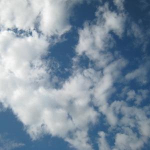 『通勤途上の空をふと見ていく』(191016)