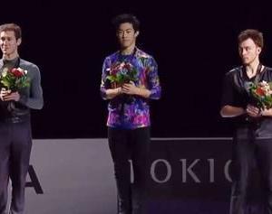 スケートアメリカ男子。ネイサンに陳謝&ついにアリエフ表彰台へ。